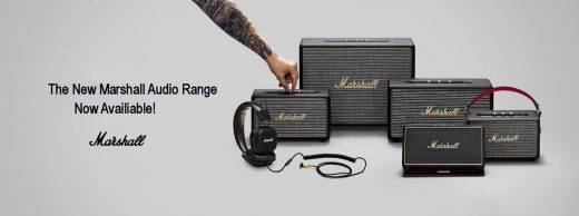 Marshall bluetooth speakers and headphones